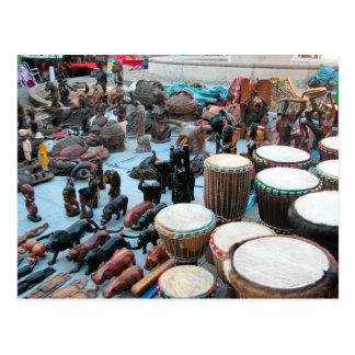 African drums 2 postcard