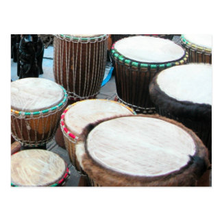 African drums 5 postcard