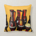 African Drums Pillows