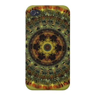 African Dusk Mandala iPhone 4 case