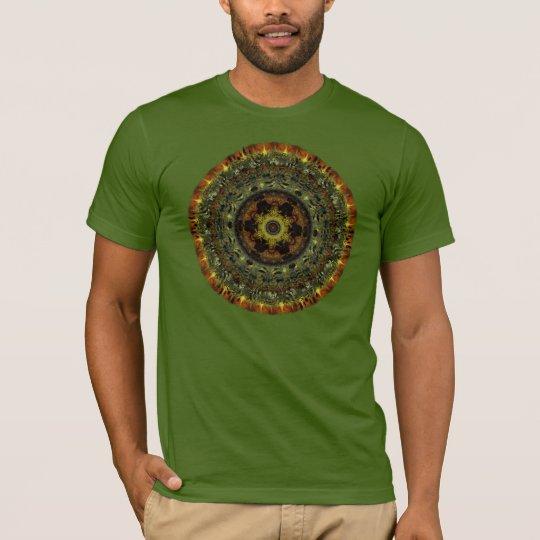 African Dusk Mandala t-shirt