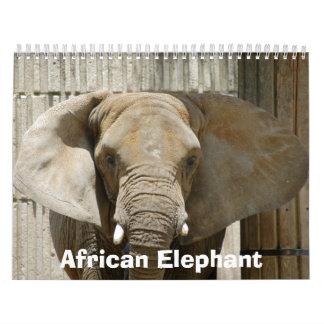 African_Elephant_005, African Elephant Calendar