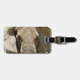 African_Elephant_005 Travel Bag Tags