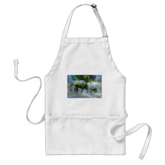 African Elephant Adult Apron