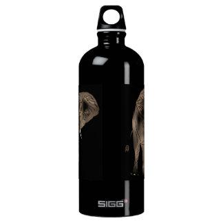 African Elephant Aluminum Water Bottle