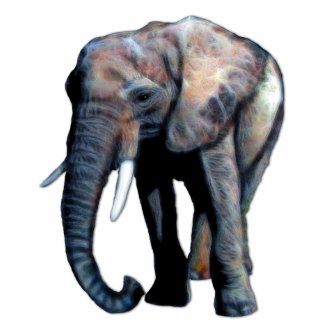 African Elephant Artwork for Animal lovers! zazzle_shirt