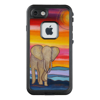 African Elephant at Sunset LifeProof FRĒ iPhone 7 Case