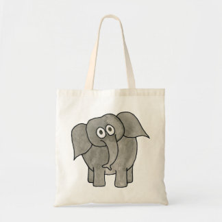 African Elephant. Canvas Bags