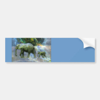 African Elephant Bumper Stickers