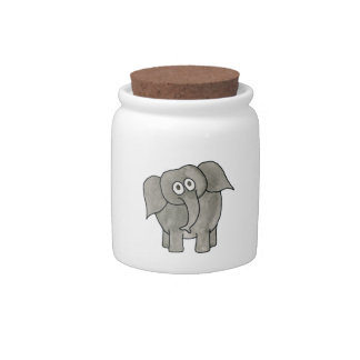 African Elephant. Candy Jars