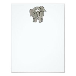 African Elephant. Card