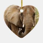 African Elephant Christmas Ornament