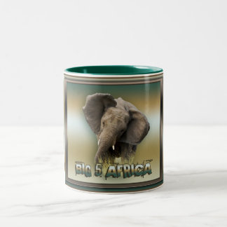 African elephant coffee mugs & steins