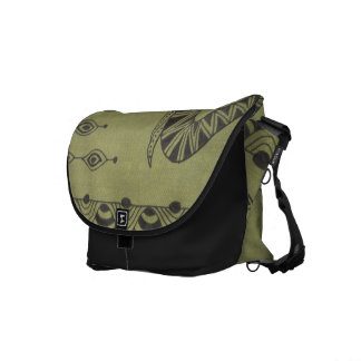 African Elephant Courier Bag