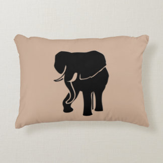 African Elephant Decorative Pillow