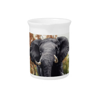 African Elephant Drink Pitchers