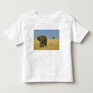 African Elephant grazing in tall summer grass, Toddler T-shirt