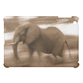 African elephant in motion ipad case
