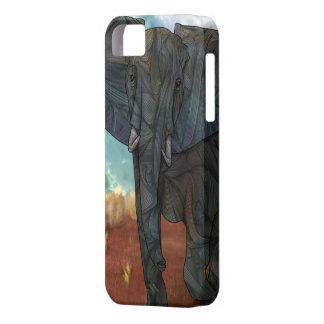 African Elephant iPhone 5 Case