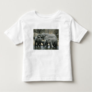African Elephant, (Loxodonta africana), drinking Toddler T-shirt