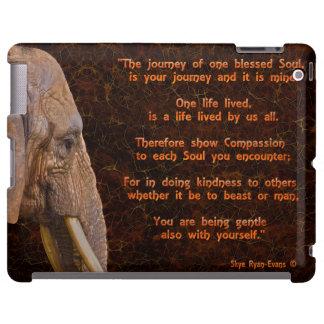 African Elephant & Moon Spiritual Wildlife