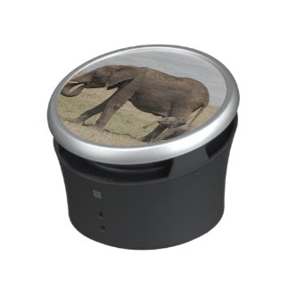 African Elephant mother with baby walking Bluetooth Speaker