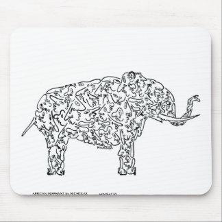 AFRICAN ELEPHANT MOUSEPAD