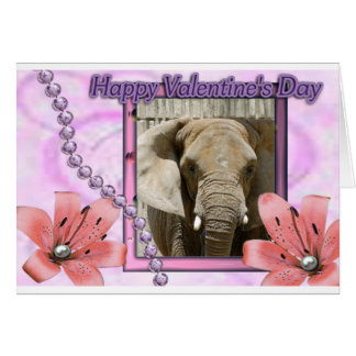African Elephant Note Card