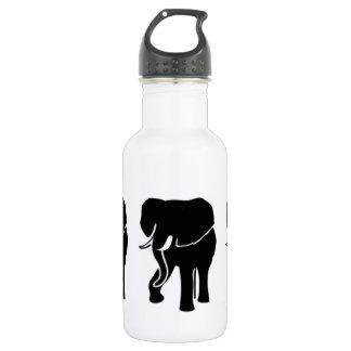 African Elephant 18oz Water Bottle