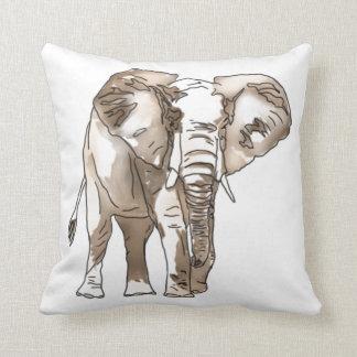 African Elephant Pillows
