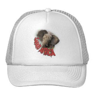 African elephant Safari Africa peak caps Trucker Hat