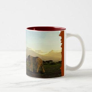 African Elephant Series Coffee Mugs