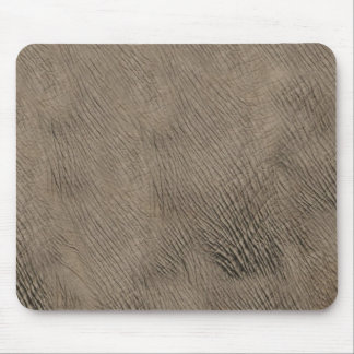 African elephant skin - faux leather mouse pad