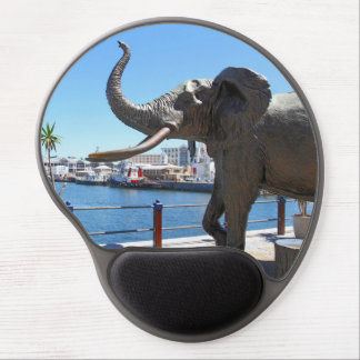 African Elephant statue in Cape Town Gel Mouse Mat