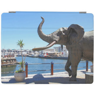 African Elephant statue in Cape Town iPad Cover