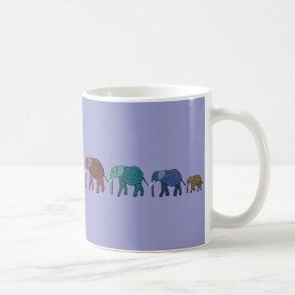 African Elephant Walk Coffee Mug