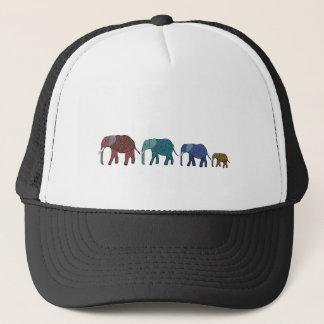 African Elephant Walk Trucker Hat
