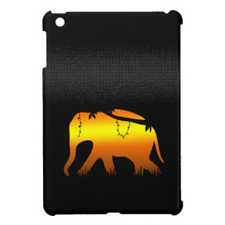 African Elephant Walking at Dawn Cover For The iPad Mini