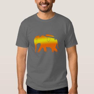African Elephant Walking at Dawn Shirt