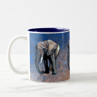 African Elephant Wildlife-supporter Drinking Mug