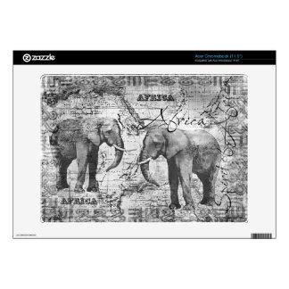 African Elephants Acer Chromebook Decal