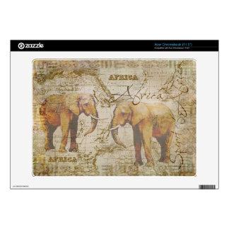 African Elephants Acer Chromebook Skin