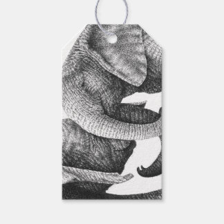 African Elephants Gift Tags