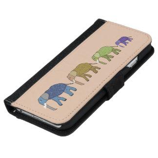 African Elephants iPhone 6/6s Wallet Case
