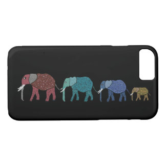 African Elephants iPhone 7 case