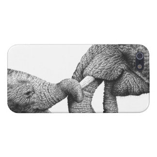 African Elephants iPhone 5 Cases