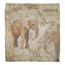 African Elephants.jpg Bandana