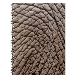 African elephant's (Loxodonta africana) skin Notebook