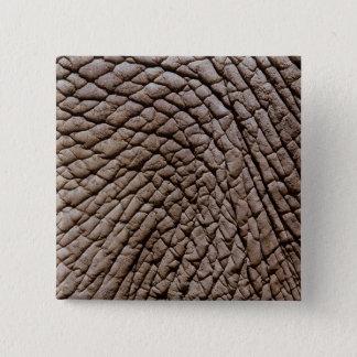 African elephant's (Loxodonta africana) skin Pinback Button