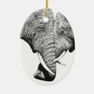 African Elephants Ornament